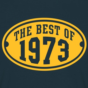 THE BEST OF 1973 - Birthday Anniversary T-Shirt YN - Men's T-Shirt