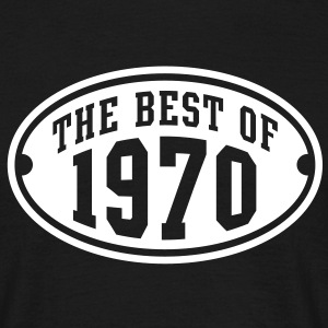 THE BEST OF 1970 - Birthday Anniversary T-Shirt WB - Men's T-Shirt