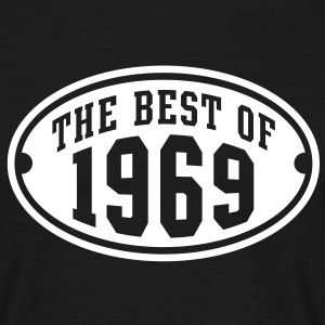 THE BEST OF 1969 - Birthday Anniversary T-Shirt WB - Men's T-Shirt