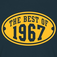 THE BEST OF 1967 - Birthday Anniversary T-Shirt YN