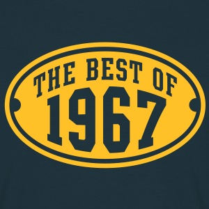 THE BEST OF 1967 - Birthday Geburtstag T-Shirt YN - Männer T-Shirt