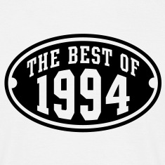 THE BEST OF 1994 - Birthday Anniversary T-Shirt BW