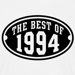 THE BEST OF 1994 - Birthday Anniversary T-Shirt BW - Men's T-Shirt
