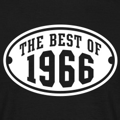 THE BEST OF 1966 - Birthday Anniversary T-Shirt WB