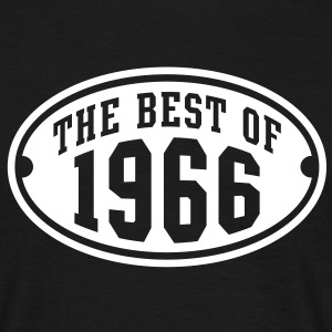 THE BEST OF 1966 - Birthday Anniversary T-Shirt WB - Men's T-Shirt