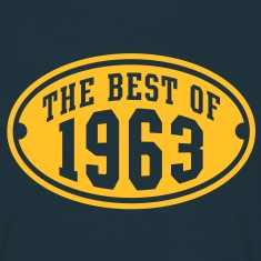 THE BEST OF 1963 - Birthday Anniversary T-Shirt YN