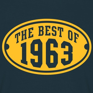 THE BEST OF 1963 - Birthday Anniversary T-Shirt YN - Men's T-Shirt