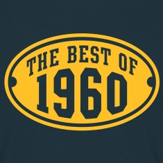 THE BEST OF 1960 - Birthday Anniversary T-Shirt YN