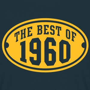 THE BEST OF 1960 - Birthday Anniversary T-Shirt YN - Men's T-Shirt