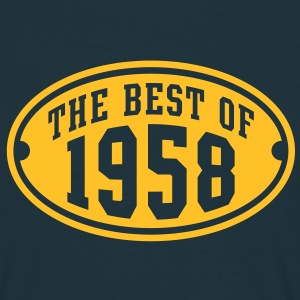 THE BEST OF 1958 - Birthday Anniversaire Tee Shirt YN - T-shirt Homme
