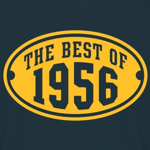THE BEST OF 1956 - Birthday Anniversaire Tee Shirt YN - T-shirt Homme
