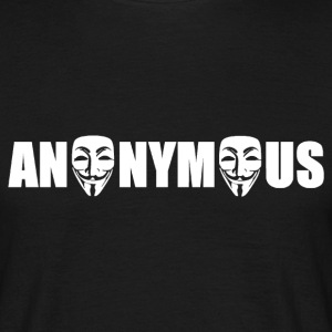 anonymous Tee shirts - Männer T-Shirt