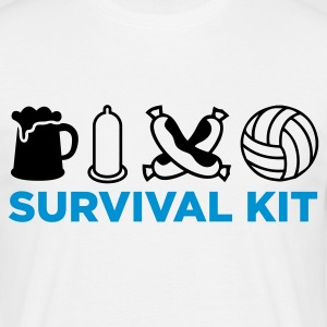 Survival Kit for Men T-Shirts - Men's T-Shirt