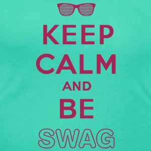 Keep calm and be swag - T-shirt col rond U Femme