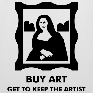 Mona Lisa - l'artiste affamé - Tote Bag