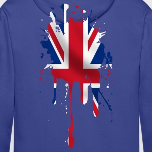 union jack Sweat-shirts - Sweat-shirt à capuche Premium pour hommes