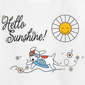 Hello sunshine, hello sping and summer kids Kids' Shirts - Teenage T-shirt