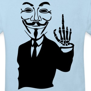 anonymous masque mask fuck5 main hand sq Tee shirts Enfants - T-shirt Bio Enfant