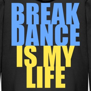 break dance is my life ukraine Hoodies - Kids' Premium Zip Hoodie