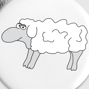 Sheep Buttons - Buttons small 25 mm