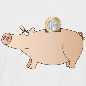 Piggy bank T-Shirts - Men's Baseball T-Shirt