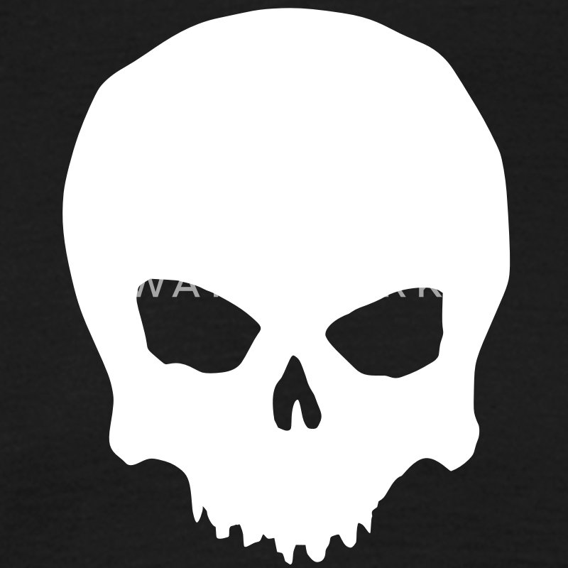 plain skull - Men's T-Shirt