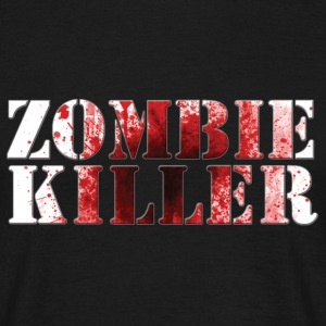 Zombie killer - T-shirt herr