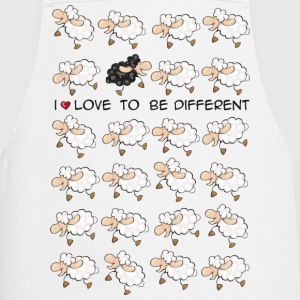 I love to be different  Aprons - Cooking Apron