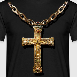 crucifix - Herre-T-shirt