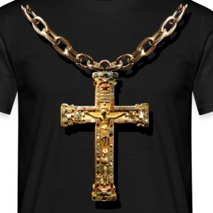 crucifix - Men's T-Shirt