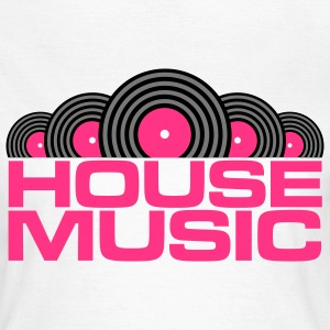 House Music V3 T-Shirts - Frauen T-Shirt