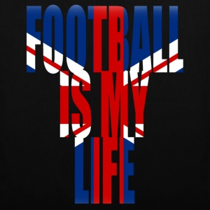 football is my life angleterre Sacs - Tote Bag