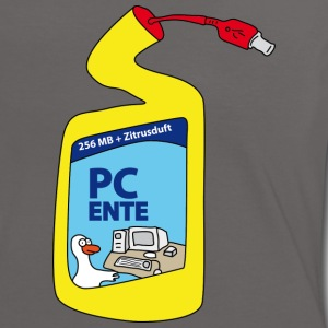 PC Ente T-Shirts - Frauen Kontrast-T-Shirt