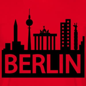 Berlin skyline T-shirts - Mannen T-shirt
