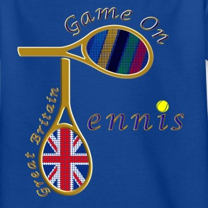 GB tennis game on design Kids' Shirts - Kids' T-Shirt