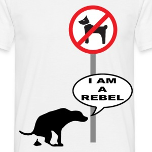 rebel dog Tee shirts - T-shirt Homme