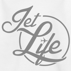 Jet Life (silver) - Teenager-T-shirt