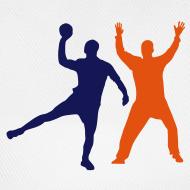 Motif ~ Casquette blanche Play Handball