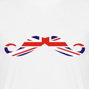 Union Jack Moustache T-Shirts - Men's T-Shirt