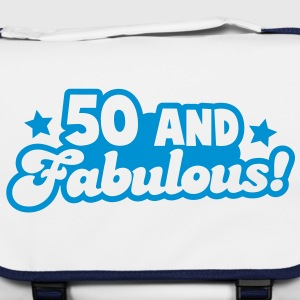 50 Fifty and fabulous! Humour Birthday design Bags  - Shoulder Bag