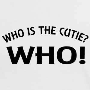 who_is_the_cutie_vec_2 en - Women's Ringer T-Shirt