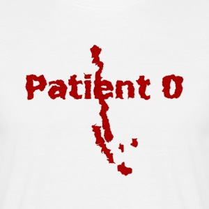 Shirt for men Zombie Apocalypse: Patient 0 - The Beginning of the End | Horror Fun Shirts - Men's T-Shirt