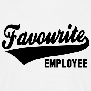 Favourite EMPLOYEE T-Shirt BW - Men's T-Shirt