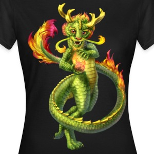 chinese anthro dragon - Women's T-Shirt
