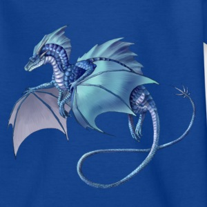 blue dragon - Kids' T-Shirt