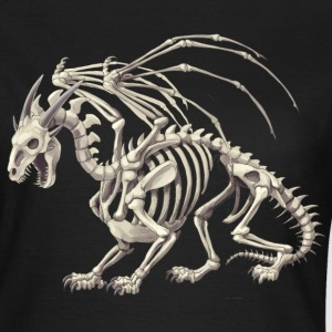 skeletal dragon - Dame-T-shirt