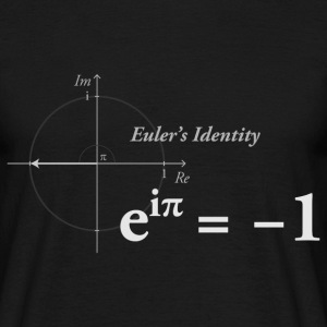 Euler's Identity Math light - Men's T-Shirt