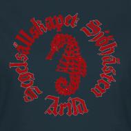 Motiv ~ Sjöhästen Klassisk T-shirt dam stor logga