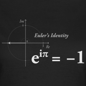 Euler's Identity Math girl light - Women's T-Shirt