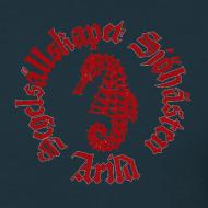 Motiv ~ Sjöhästen Klassisk T-shirt liten logga herr